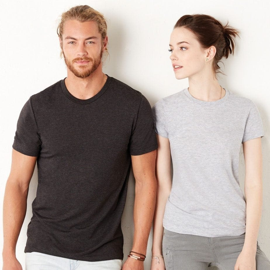 Unisex Fitted T Shirt Printing